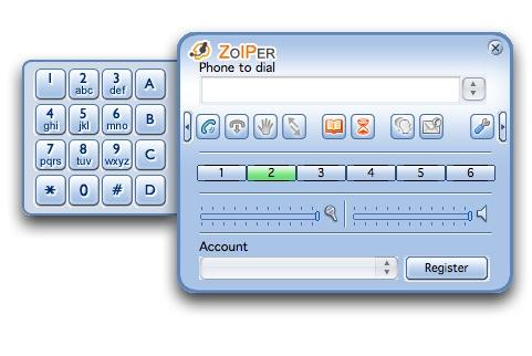 zoiper voip sip internet calls